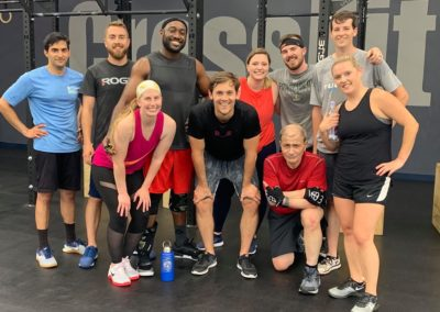 Members of our local CrossFit crew