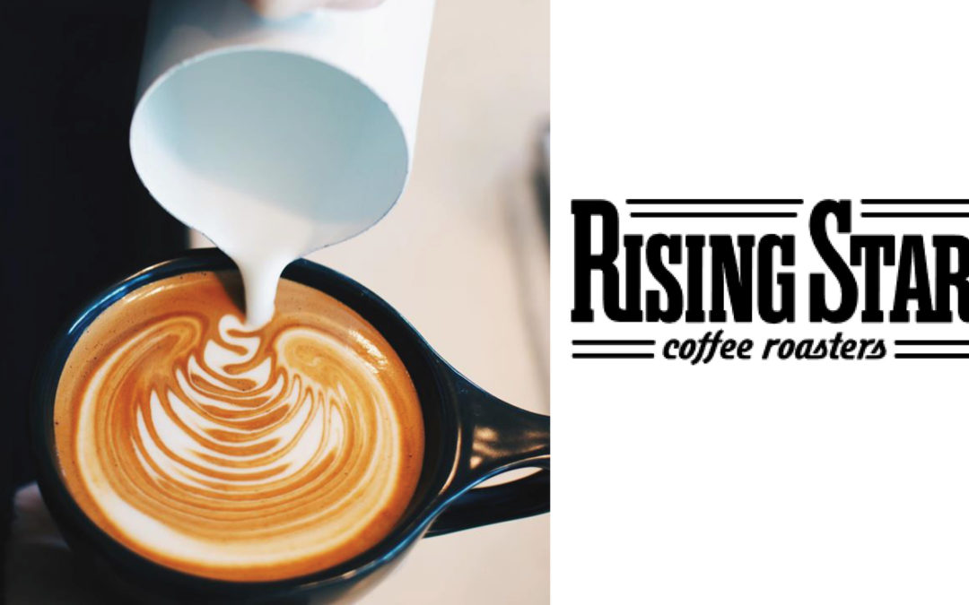 Rising Star Coffee is now open!
