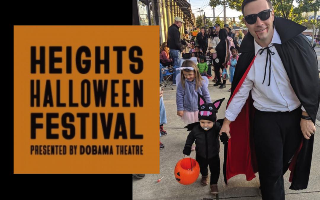 Heights Halloween Fest – Oct. 23rd 4-7 pm.